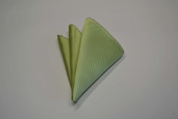 ポケットチーフ【アップルグリーン(薄い黄緑)のソリッドポケットチーフ】