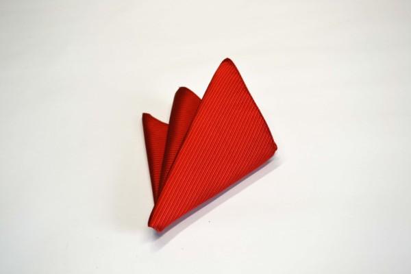 ポケットチーフ【レッド(赤)少しオレンジかかったソリッド(無地)ポケットチーフ】