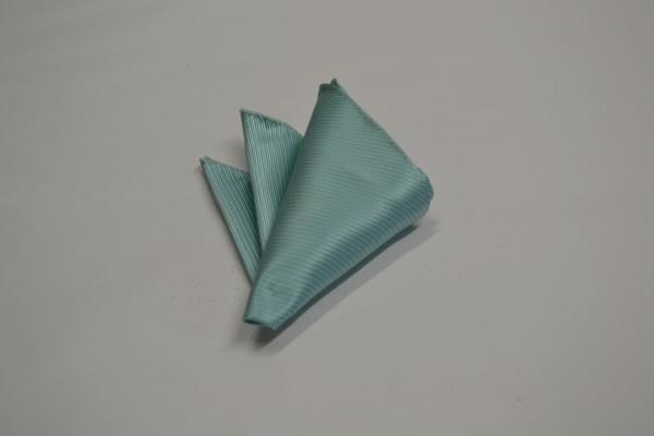 ポケットチーフ【薄いエメナルドグリーンのソリッド(無地)ポケットチーフ】