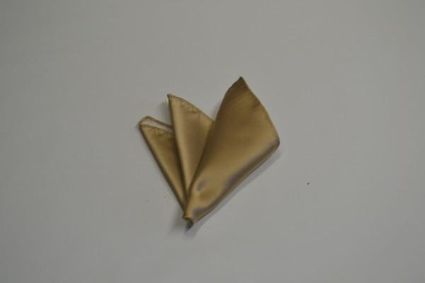 ポケットチーフ【シャンパーンゴールドのポケットチーフ】