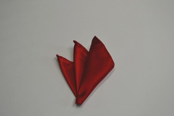 ポケットチーフ【綺麗な赤のポケットチーフ】