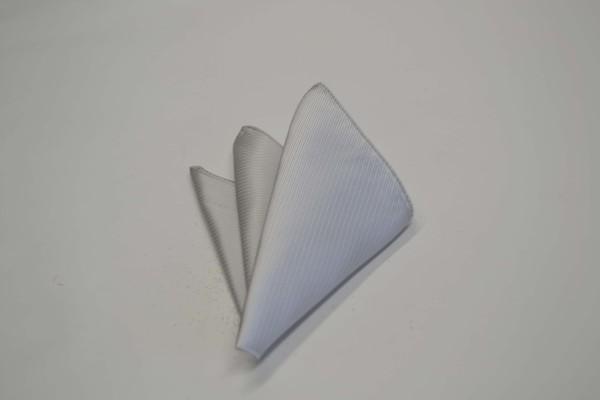 ポケットチーフ【シルバーグレーのソリッド(無地)ポケットチーフ】