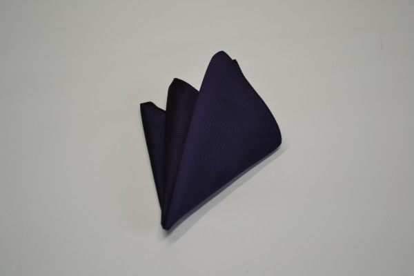 ポケットチーフ【バイオレットのソリッド(無地)ポケットチーフ】