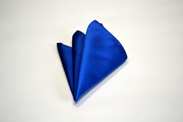 ポケットチーフ【ブルー(青)のソリッド(無地)ポケットチーフ】