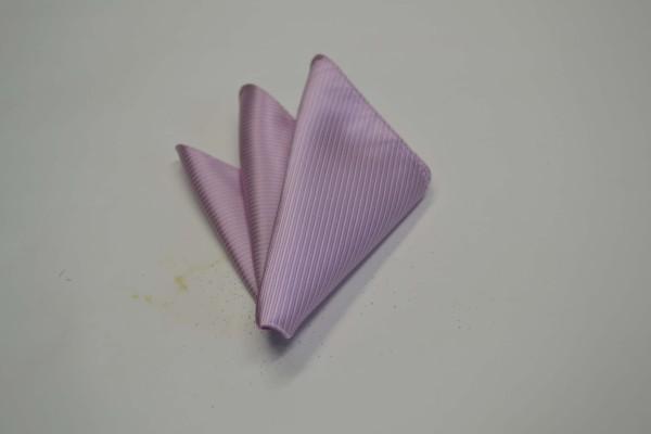 ポケットチーフ【少しラベンダーかかったピンクのソリッド(無地)ポケットチーフ】