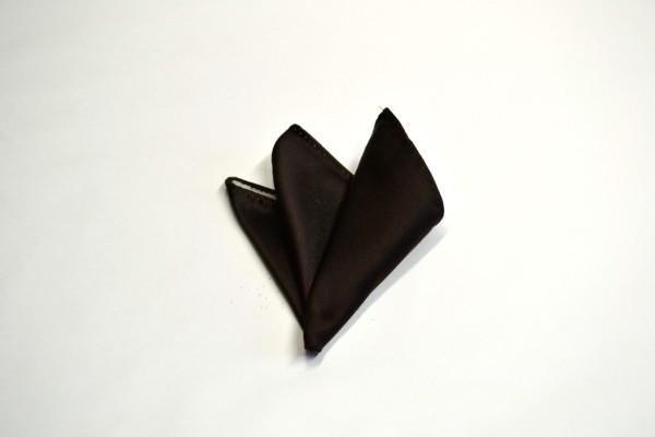 ポケットチーフ【チョコレート色のブラウンのポケットチーフ】