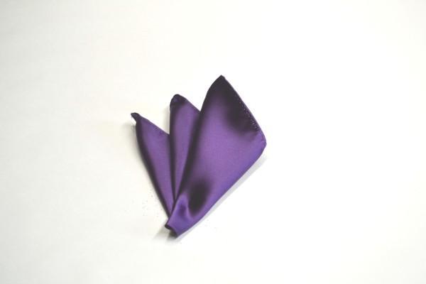 ポケットチーフ【紫(濃いラベンダー)のポケットチーフ】