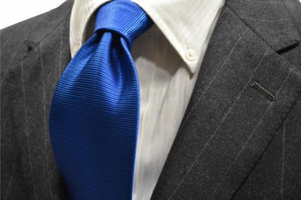 定番・市松模様 ネクタイ【ブルーのホリゾン・ネクタイ】